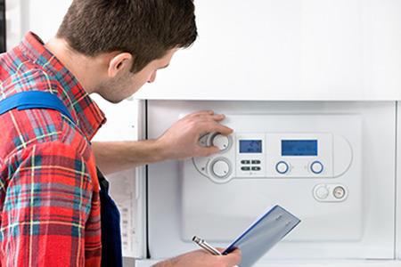 reparação e manutenção de caldeiras